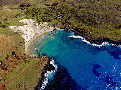 Foto Anakena Diego R - Isla de Pascua