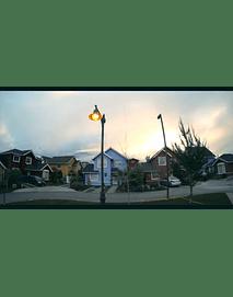 Timelapse nubes de invierno en el condominio