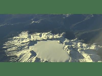 Video desde avion_#06 volácn gigante
