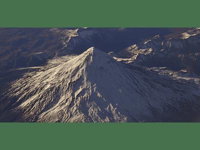 Video desde avion #07  Volcán Lanin