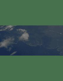 Video desde avion #19 volando muy alto sobre la costa