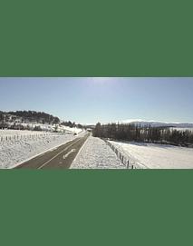Video Aereo Aysen Invierno #02  (Carretera Austral)