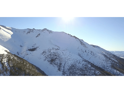 Aerial Video Aysen Winter # 06
