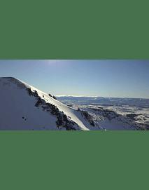 Aerial Video Aysen Winter # 07 (mountains in austral zone)