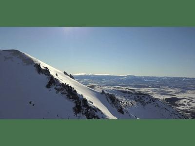 Video Aereo Aysen Invierno #07 (montañas en zona austral)