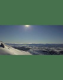 Aerial Video Aysen Winter # 08 (Patagonia nevada)