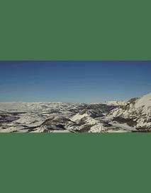 Aerial Video Aysen Winter # 09 (Patagonia nevada)