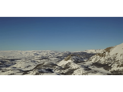 Aerial Video Aysen Winter # 09 (Patagonia nevada)