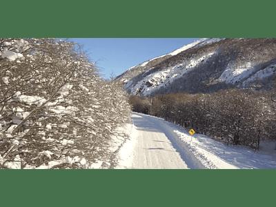 Aerial Video Aysen Winter # 10 (austral road)