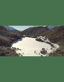 Video Aereo Aysén Invierno #11 (lago chiguay congelado)