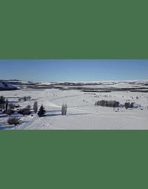 Video Aereo Aysén Invierno #22 (campos en invierno)