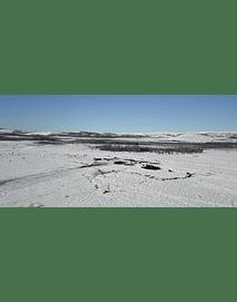 Video Aereo Aysén Invierno #23 (campos en invierno)