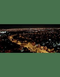Video aerea nocturna #01