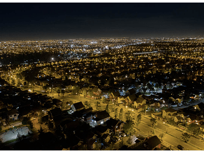 Foto Santiago ciudad del este noche #02