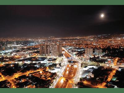 Santiago la florida noche DJI_0288