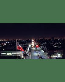 video Santiago Noche gran avenida 01