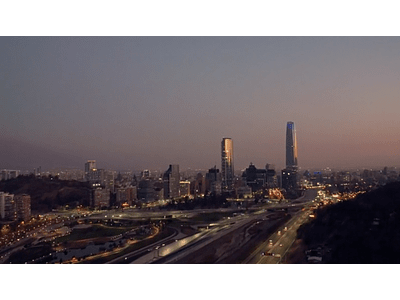 video costanera norte sunset hyperlapse 01