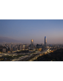 Photo Santiago Providencia sunset DJI_0850