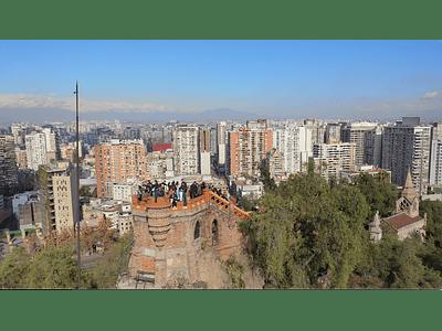 Video Santiago cerro Santa Lucia 09