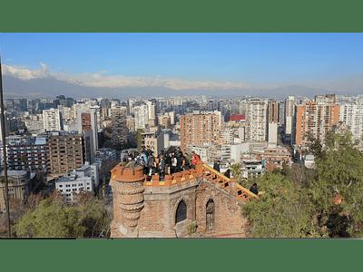 Video Santiago cerro Santa Lucia 10