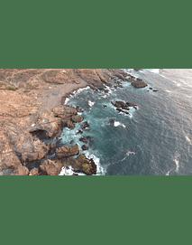 video Los Vilos Coquimbo mar y rocas 08