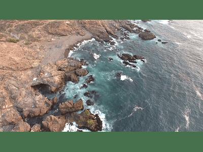 video Los Vilos Coquimbo sea and rocks 08