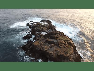 video Los Vilos Coquimbo sea and rocks 09