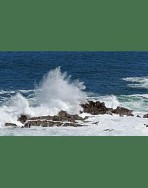 Foto Mar de Antofagasta - choque de ola 0