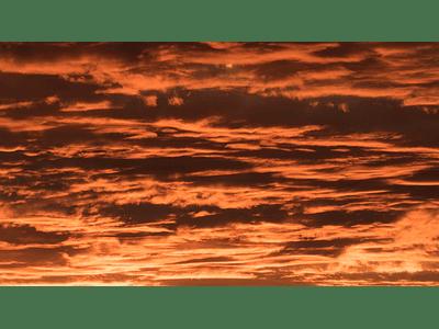 Photo sky at sunset 01