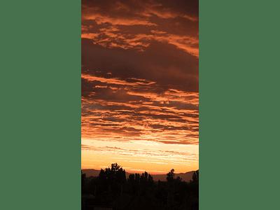 Photo sky at sunset 02