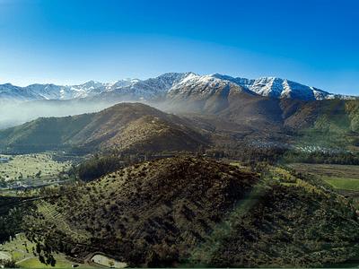 Foto en la falda de la montaña - stgo 09