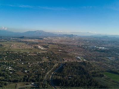 Foto en la falda de la montaña - stgo 19
