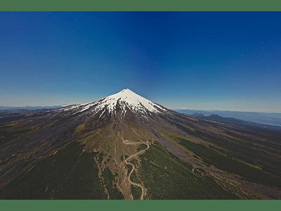 foto Volcan Villarica - DR01