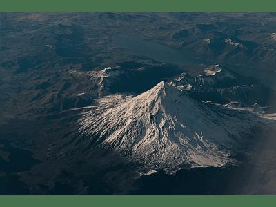 Lanin Volcano Photo - Araucanía Region # 01