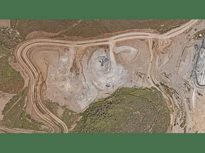 foto tipo satelital Minería 011