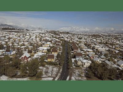 Video Santiago nevado 00011