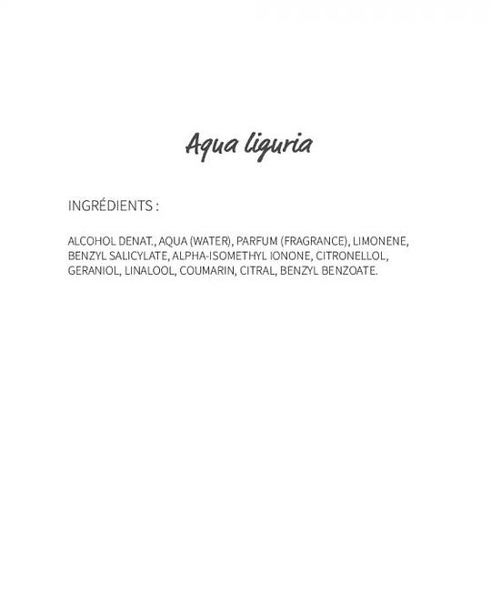 Aqua Liguria (123) - eau de parfum 30ml