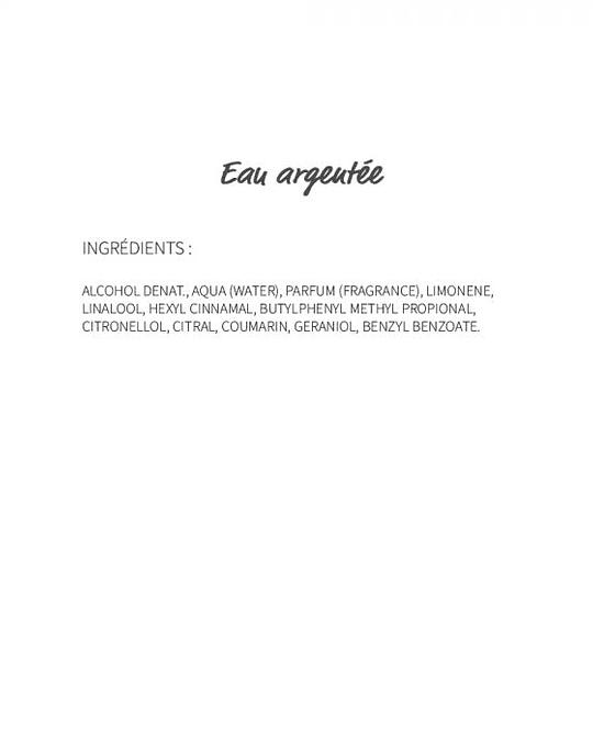 Eau Argentée (241) - eau de parfum 30ml