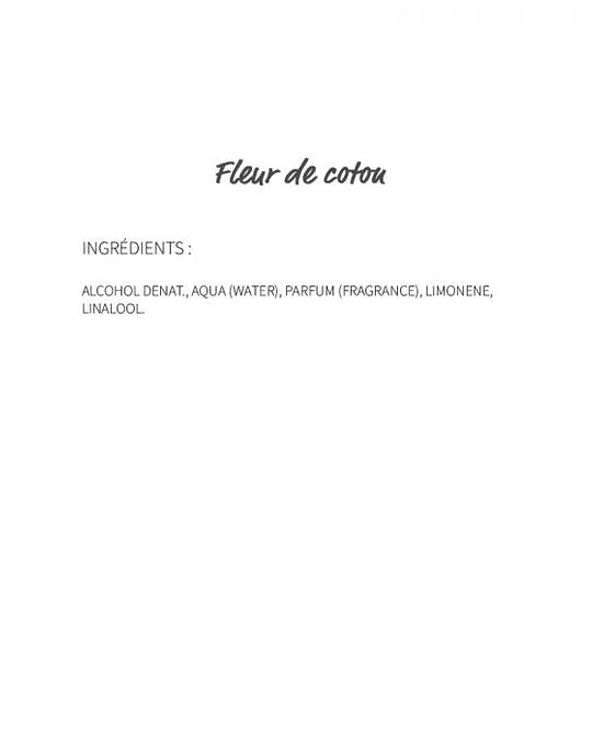 Fleur de coton (11)  - eau de parfum 30ml