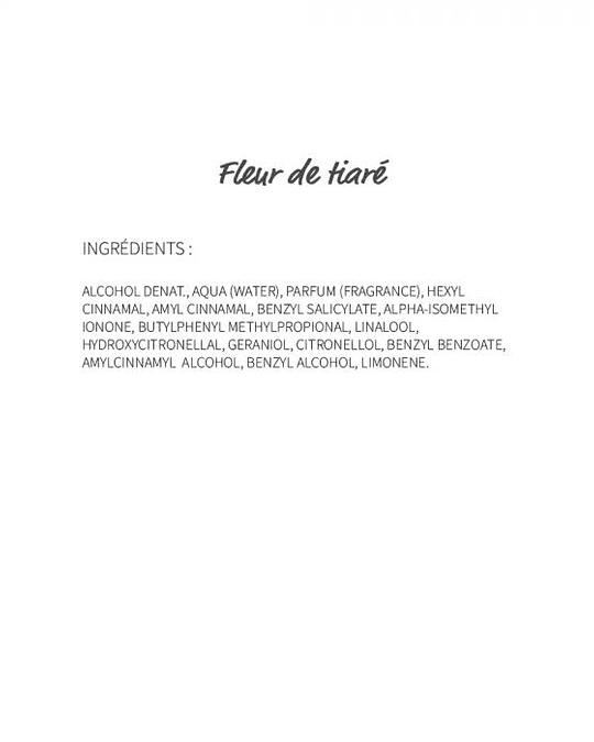 Fleur de tiaré (115) - eau de parfum 30ml