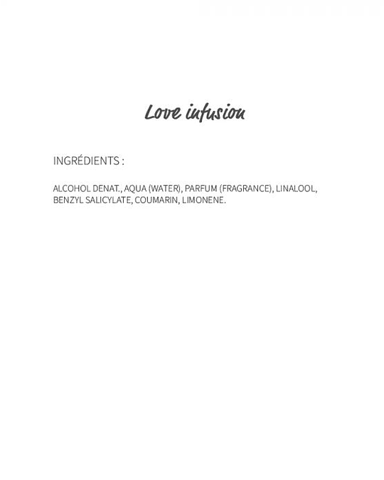 Love infusion (211) - eau de parfum 30ml