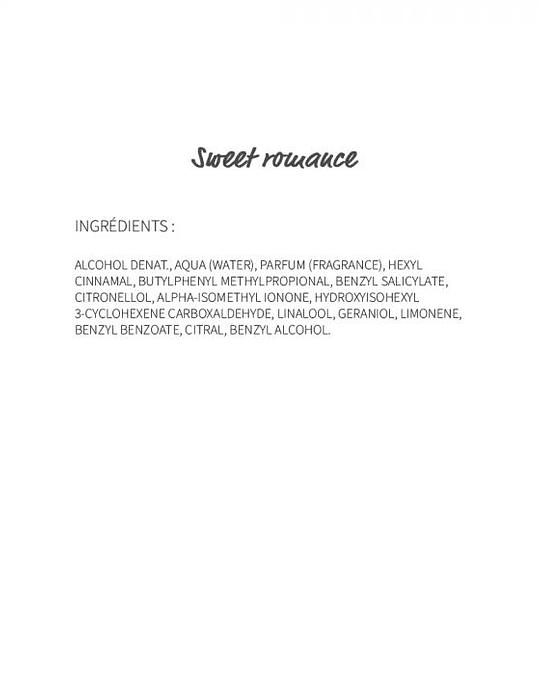 Sweet Romance (16) - eau de parfum 30ml