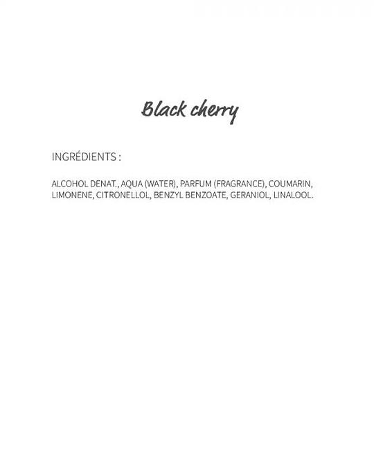 Black Cherry (21) - eau de parfum roll-on 10ml