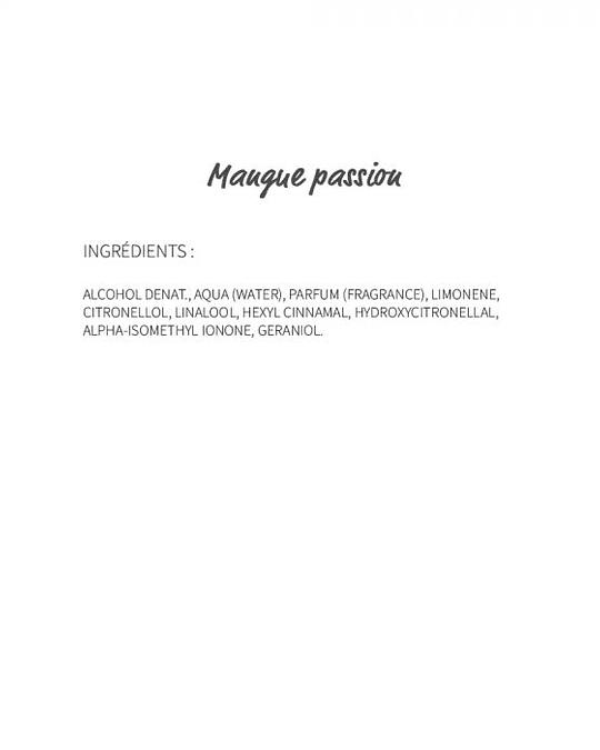 Mangue Passion (101) - eau de Parfum 30ml