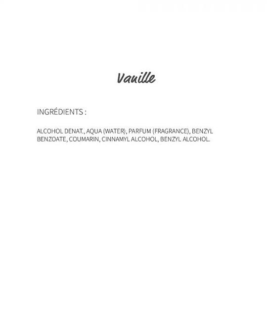Vanille (808) -  eau de parfum 30ml