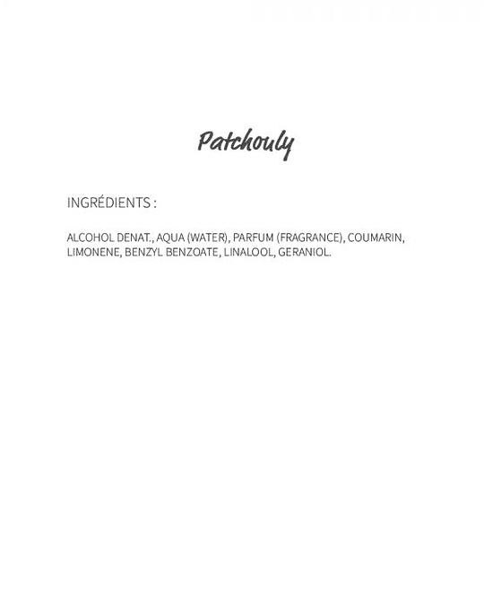Patchouly (162) - eau de parfum 30ml