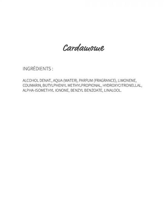 Cardamome (29) - eau de parfum 30ml