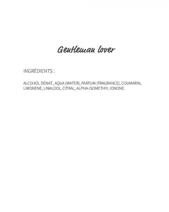 Gentleman lover (57) - eau de Parfum 30ml