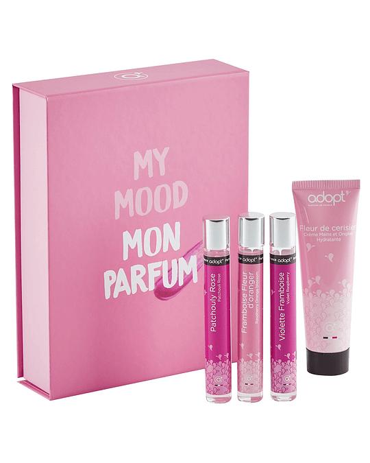 Caja eau de parfum 10ml + crema de manos 30ml