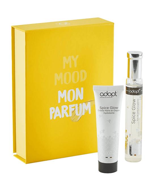Caja eau de parfum 30ml + crema de manos 30ml